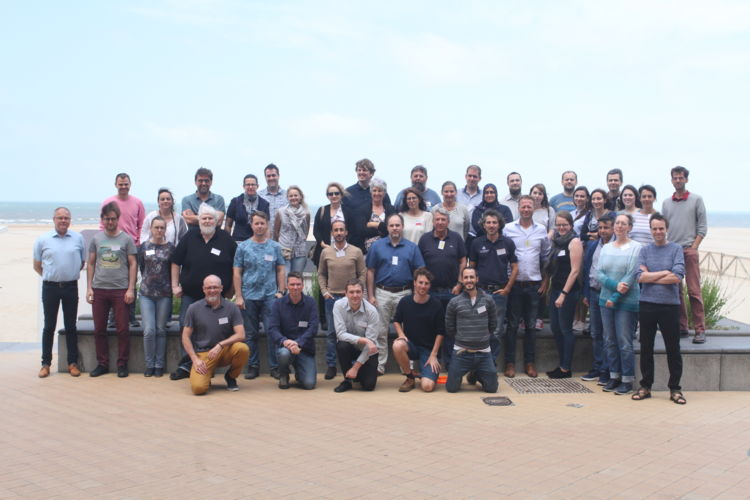 Group picture of all participants to the 1st session of SeaDataCloud 2nd training workshop